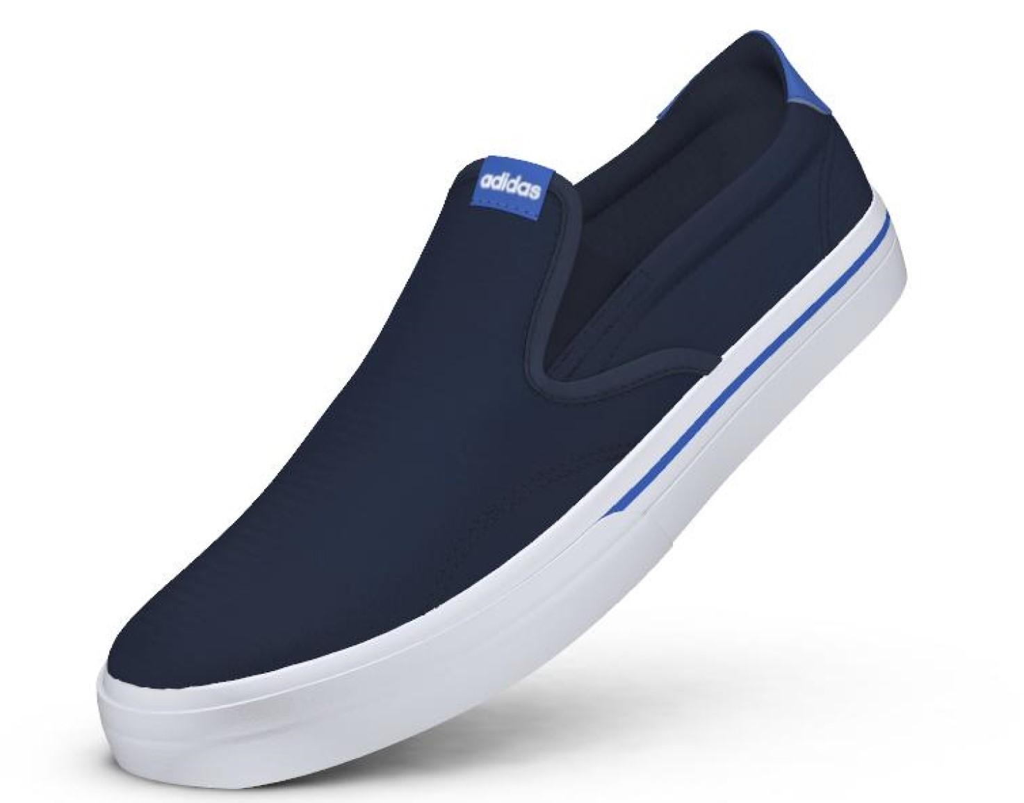 bb27f40b8 Pánske slip-on topánky adidas GVP SO modré | AD Sport.sk