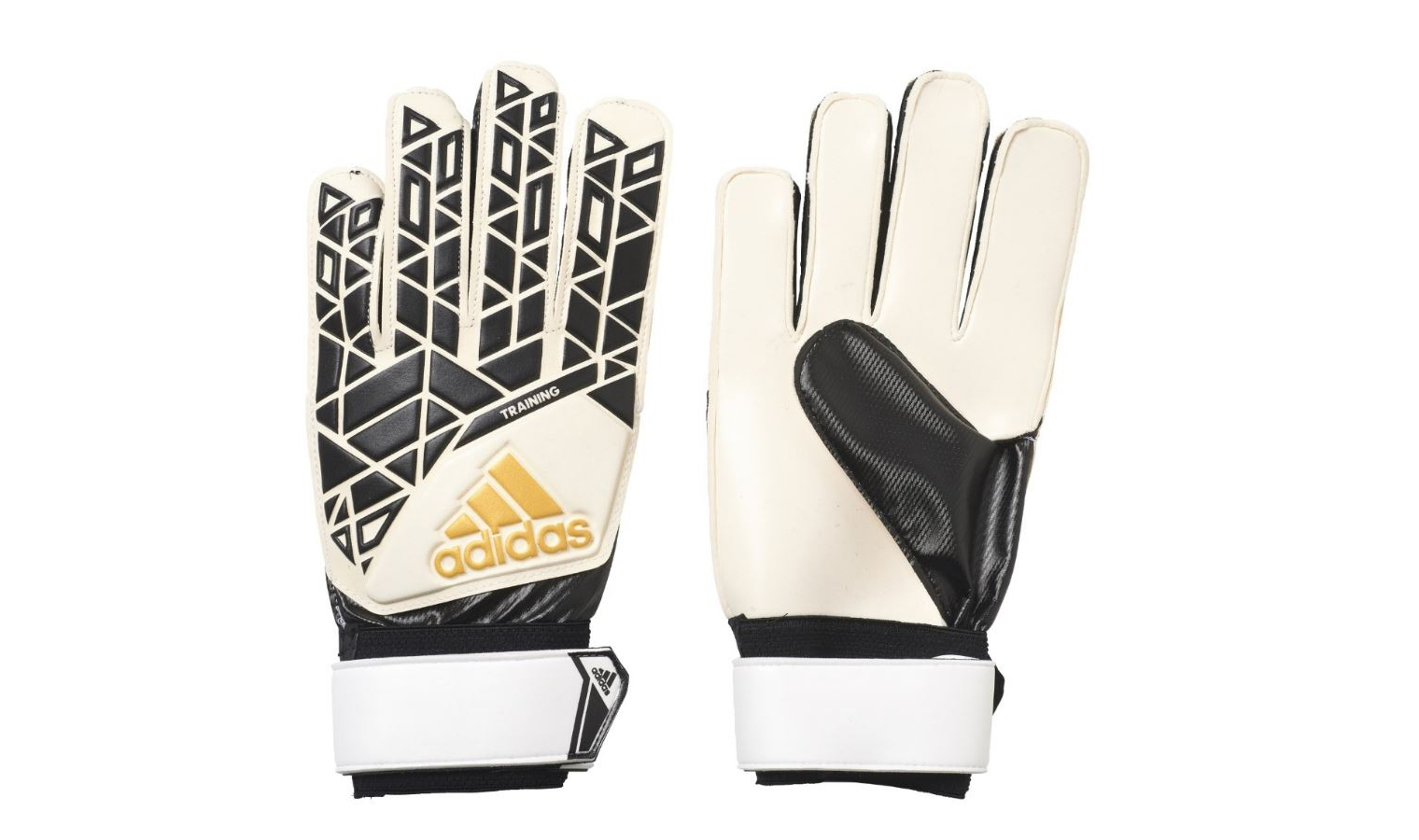a22032232 Brankárske rukavice adidas ACE TRAINING biele / čierne | AD Sport.sk