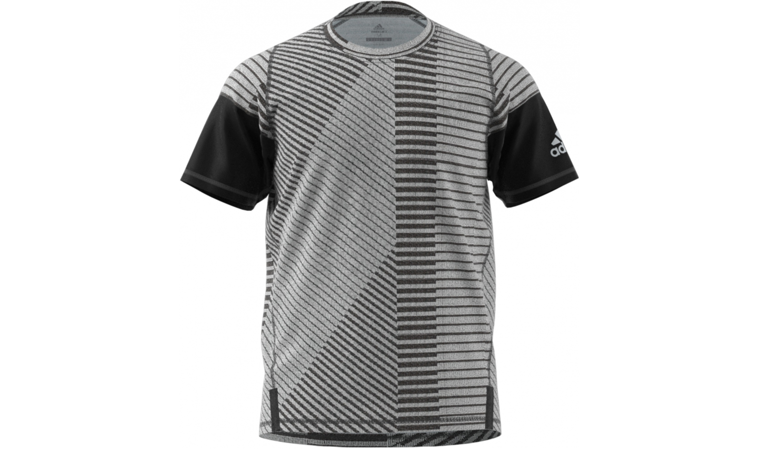 Pánske funkčné tričko adidas FL 360 X GF SRG sivé  5b78056ac71