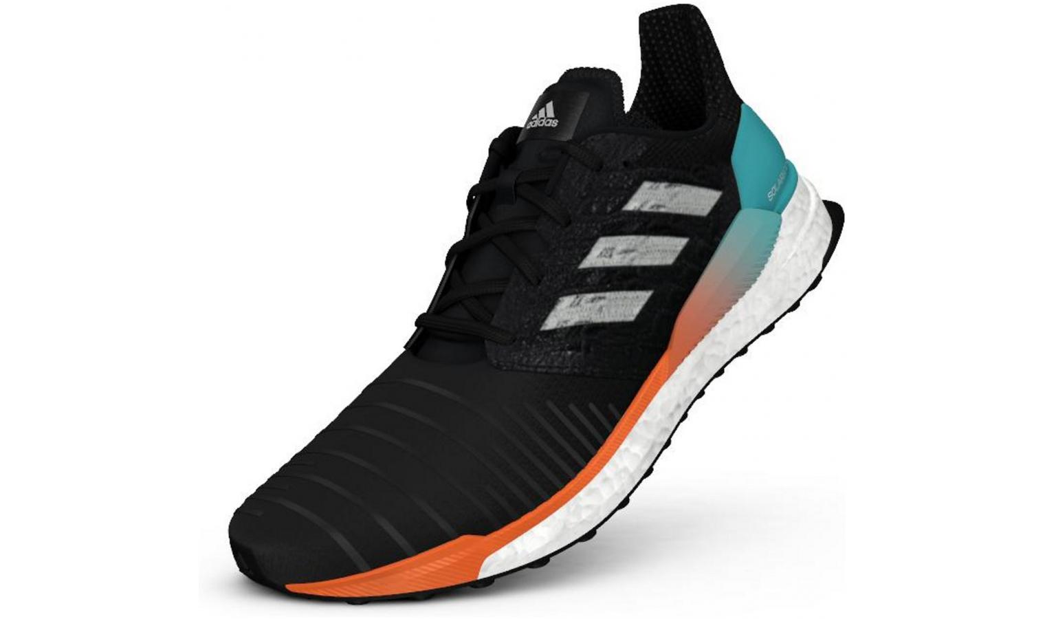 Pánske bežecké topánky adidas SOLAR BOOST čierne  e7ed43bd6fa