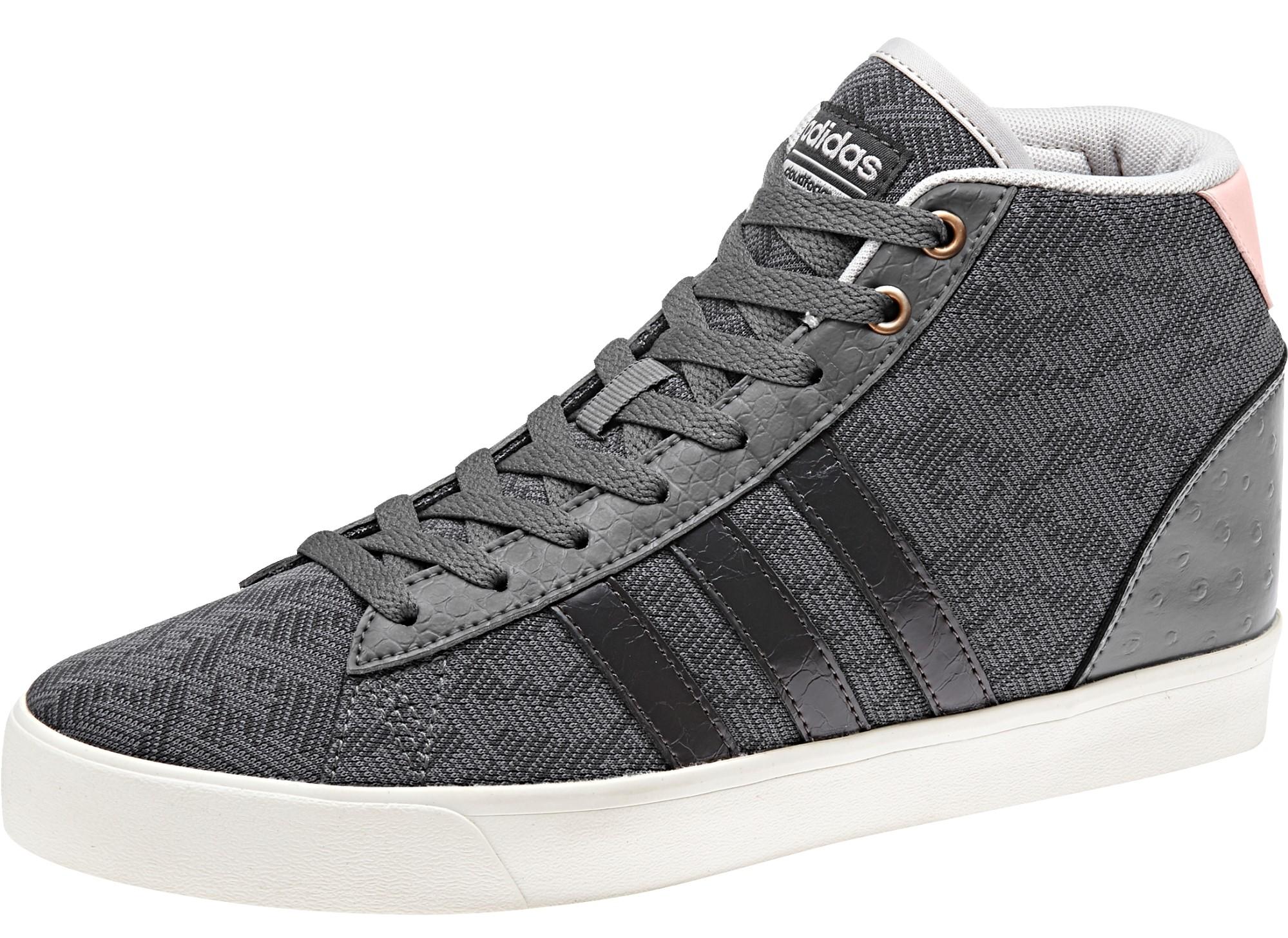 ... Dámske členkové topánky adidas CF DAILY QT MID W sivé. Zľava eadb94e05cf