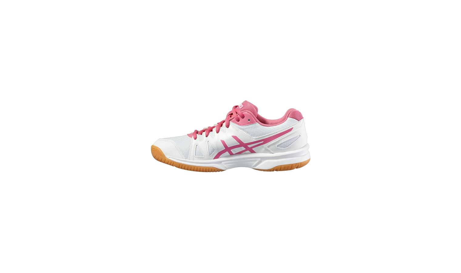 f9d5cc45df21a Dámske topánky na squash / badminton / florbal Asics GEL-UPCOURT W bielej