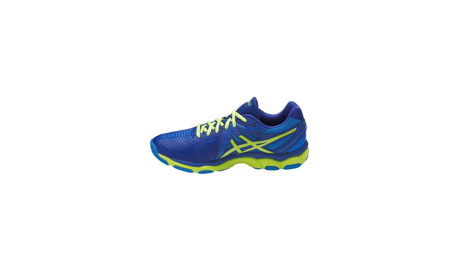 52a4fcf05ea Pánske volejbalové topánky Asics GEL-NETBURNER BALLISTIC modré