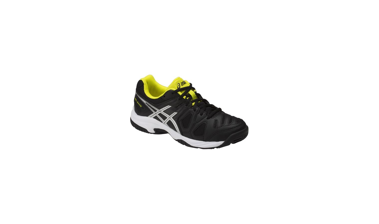 Detské tenisové topánky Asics GAME 5 GS čierne  a37a0699ad