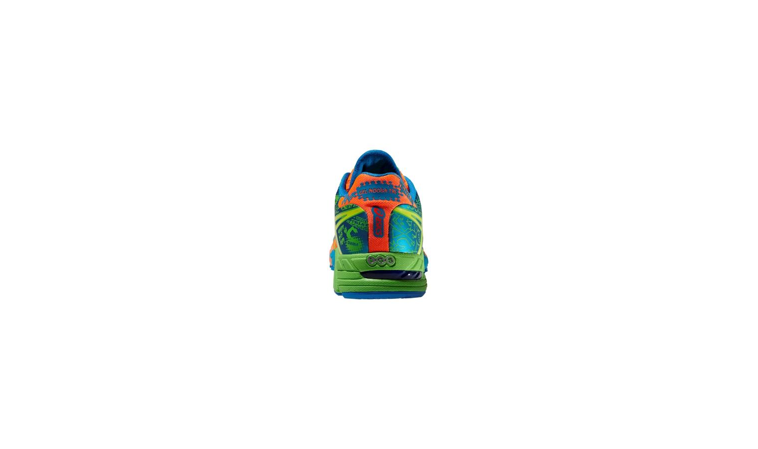 ed18c9887d4e4 Pánske triatlonovej topánky Asics GEL-NOOSA TRI 9 oranžová / modrá / zelená