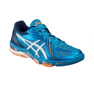 1cb5fb8eb7d Pánske volejbalové topánky Asics GEL-VOLLEY ELITE 3 modré