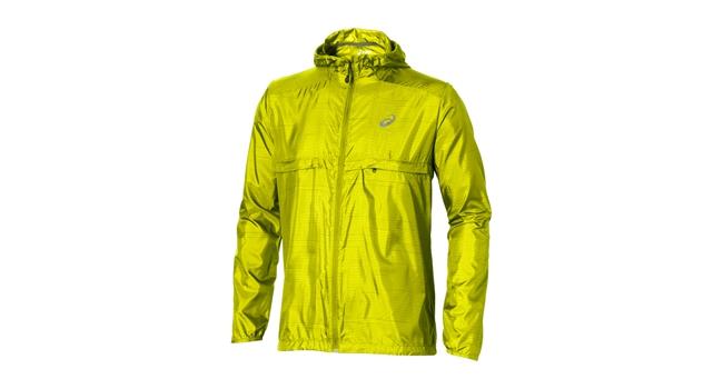 Pánska bežecká bunda Asics FUZEX PACKABLE JACKET žltá  0d7dde2fcd9