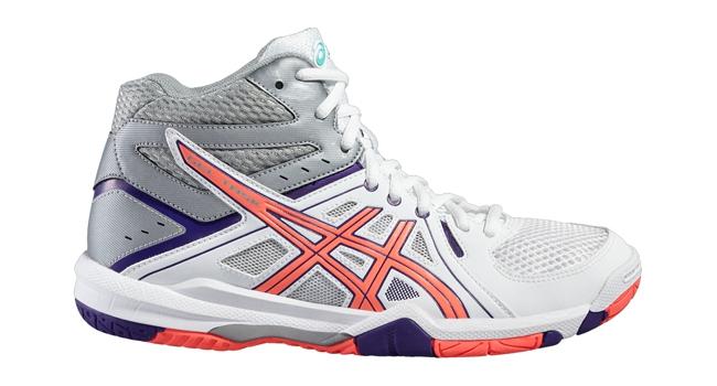 Dámske volejbalové topánky Asics GEL-TASK MT W bílé  e25b621bc07