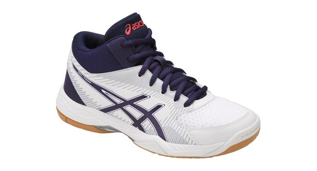 04ff0227084 Dámske volejbalové topánky Asics GEL-TASK MT W bielo-modré