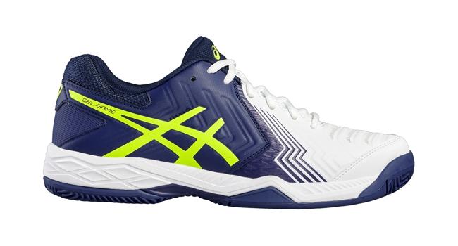 Pánske tenisové topánky Asics GEL-GAME 6 CLAY modré  84726b4b8e6