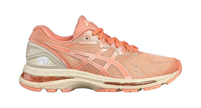 Dámske bežecké topánky Asics NIMBUS 20 SP W ružové  2218cd2ab60