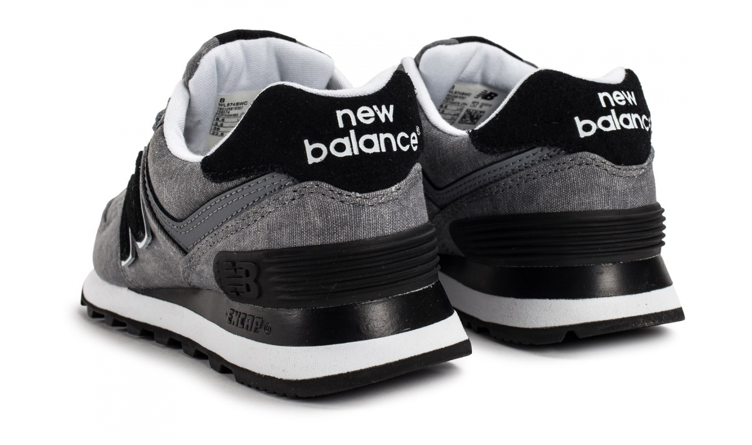 Dámske tenisky New Balance WL574SWC W šedé  b04eb2a951
