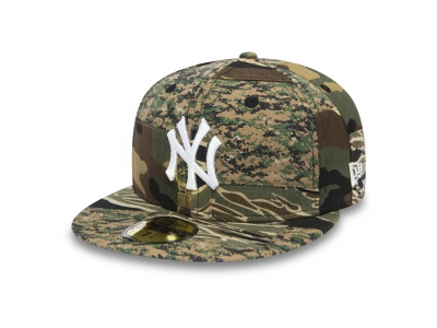 59FIFTY PATCHWORK CAMO FITTED NEW YORK YANKEES