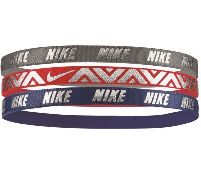 Nike METALLIC HAIRBANDS 3 PACK