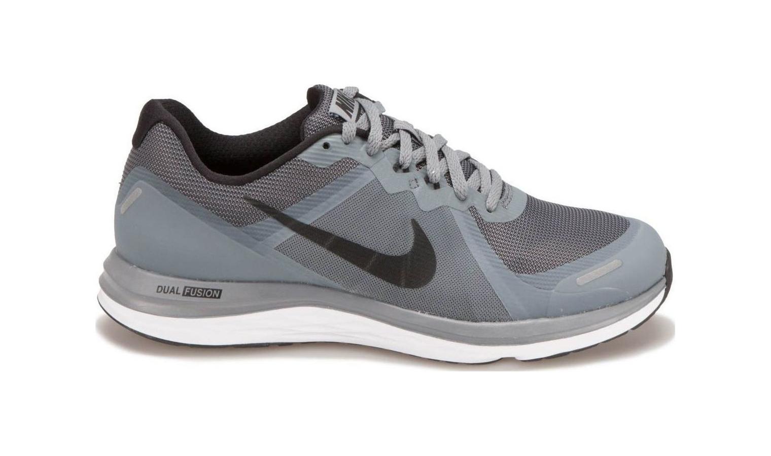 71fa281b6ab8 Pánske bežecké topánky Nike DUAL FUSION X 2 šedé