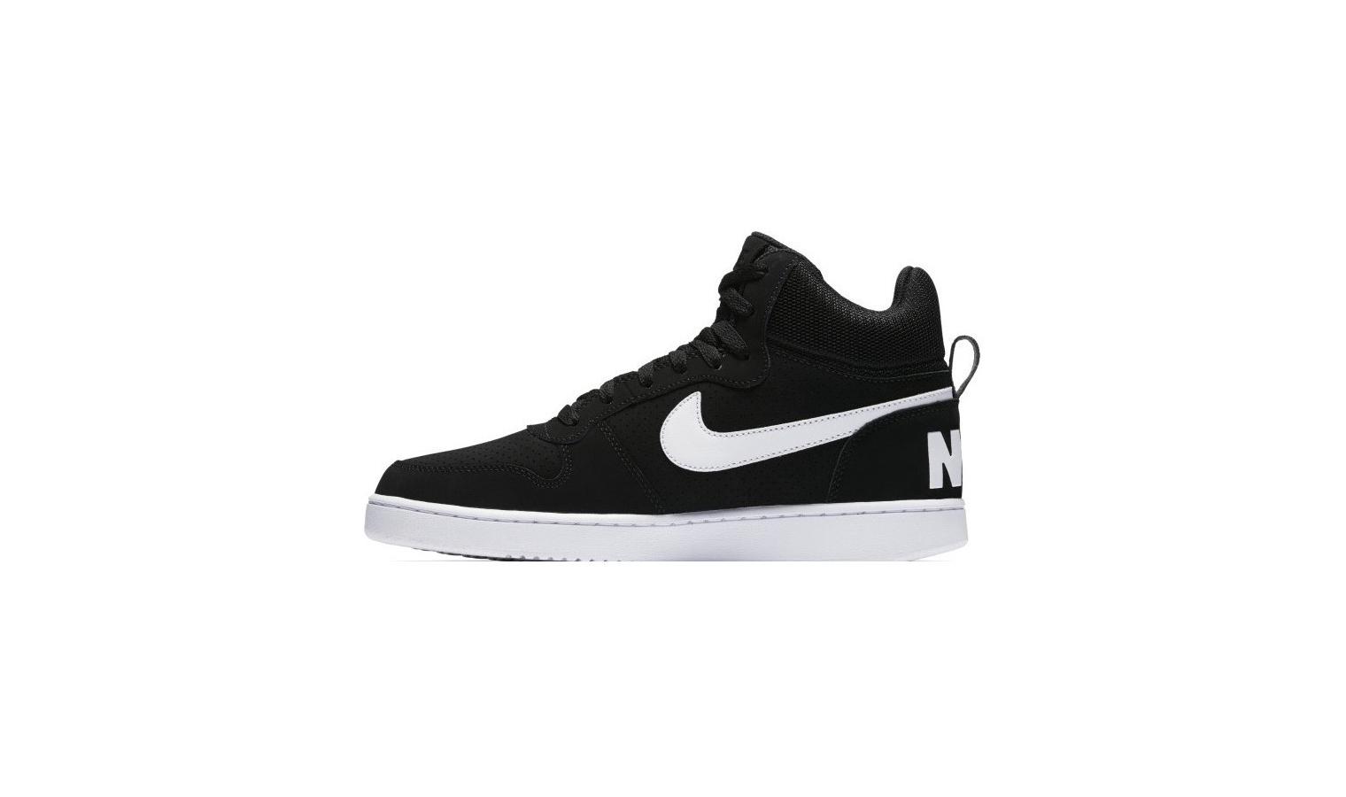 ... Pánske tenisky Nike COURT BOROUGH MID čierne. Zľava 381e6650173