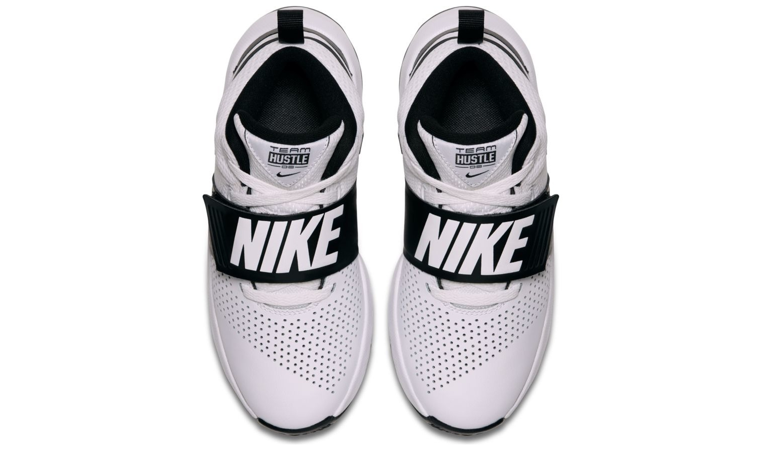 2633774fc3c99 Detské basketbalové topánky Nike TEAM HUSTLE D 8 (GS) biele | AD ...
