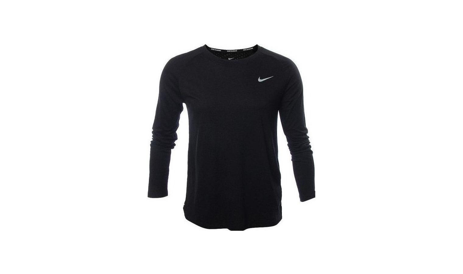 4e0d77995acd Dámske funkčné tričko Nike TAILWIND TOP LS W čierne