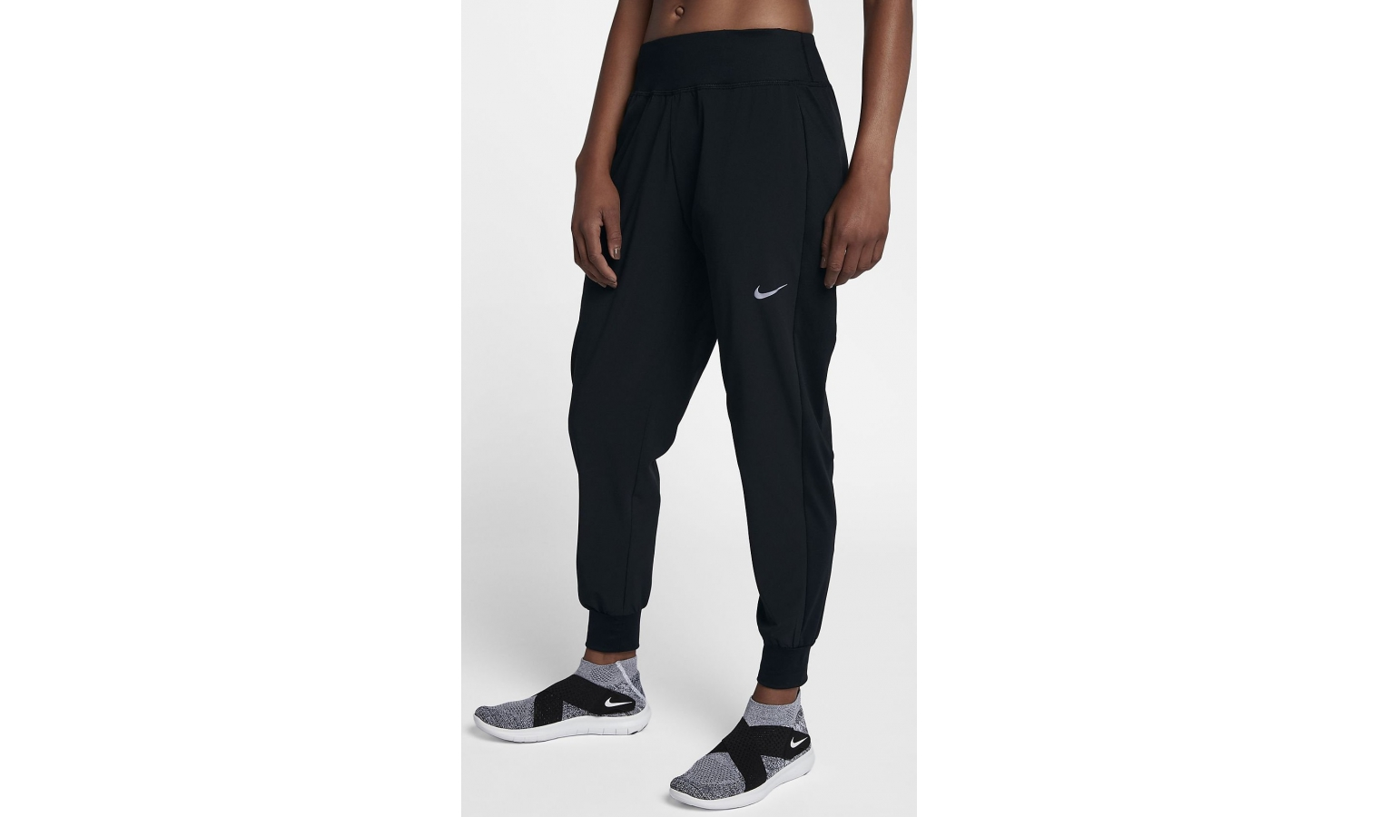 a7141e47ff28 Dámske športové tepláky Nike FLX ESSNTL PANT W čierne