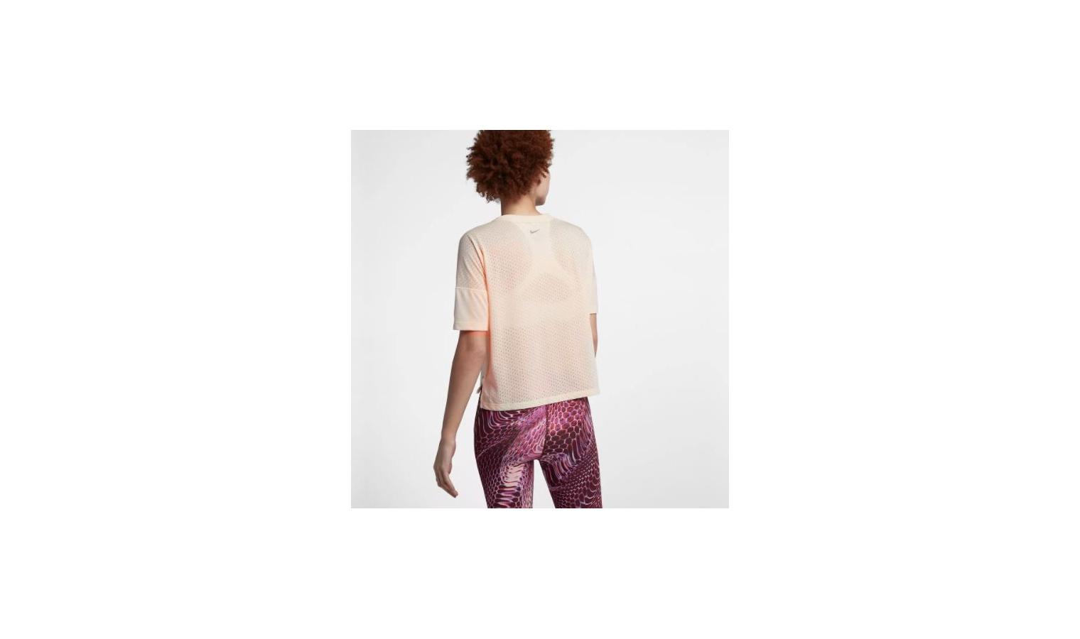 78c6689a8ffb ... Dámske funkčné tričko Nike W NK TAILWIND TOP SS COOL W ružové. Zľava