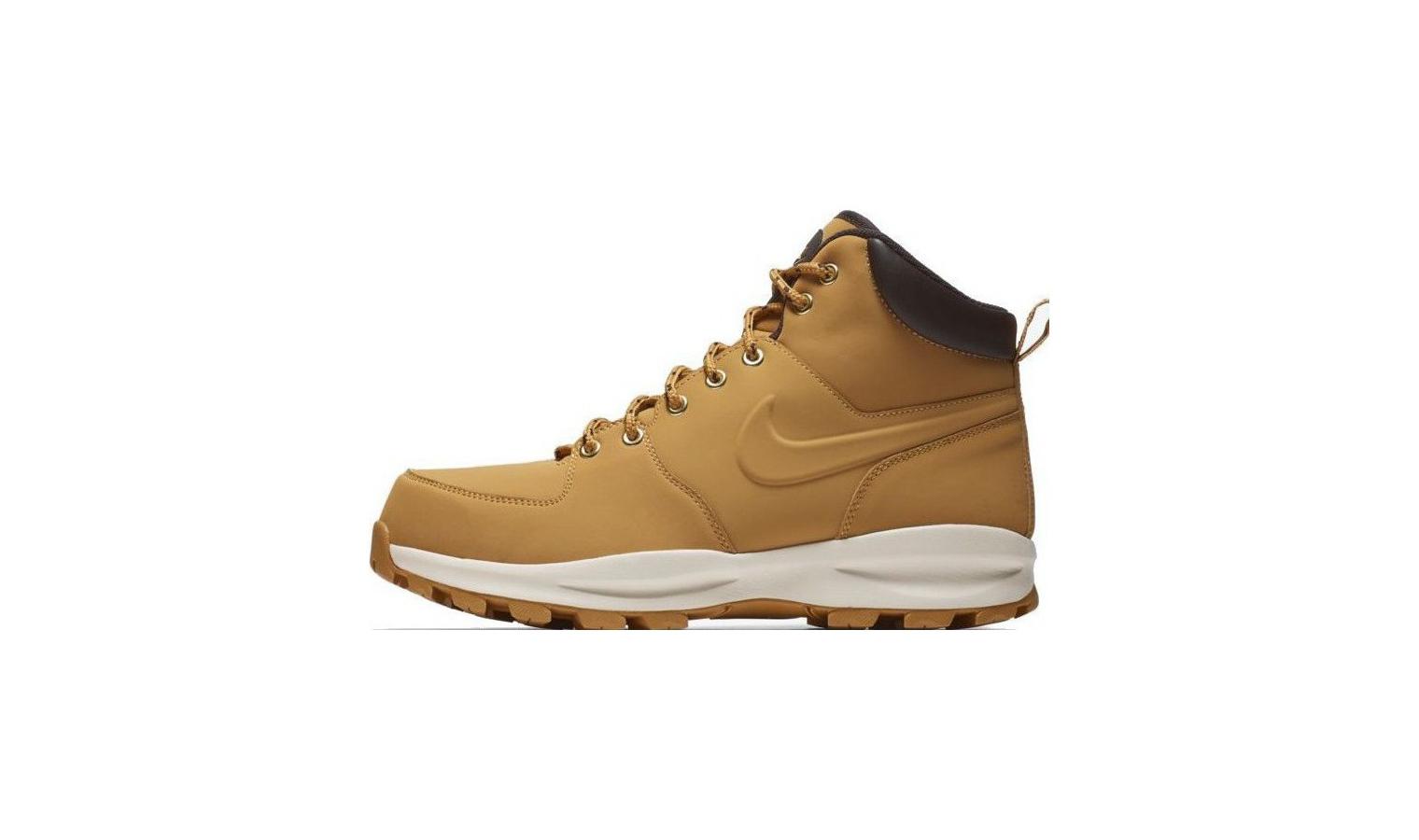 Členkové topánky Nike Manoa LEATHER hnedé  45f6d3ee96b