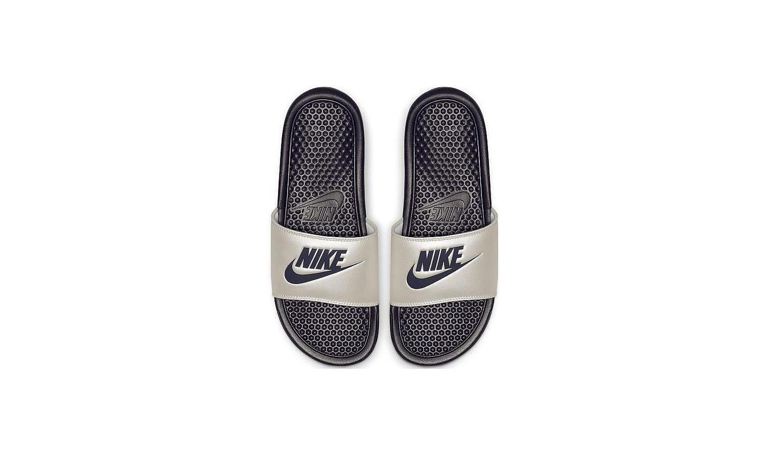 c2c62c4a3f ... Dámske nazouváky Nike BENASSI JDI W sivé. Nové