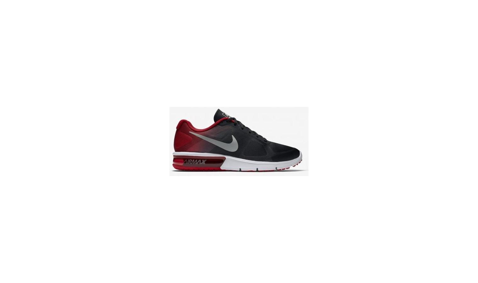Pánske topánky Nike AIR MAX Sequent čierne   červené  c3eb1b78295