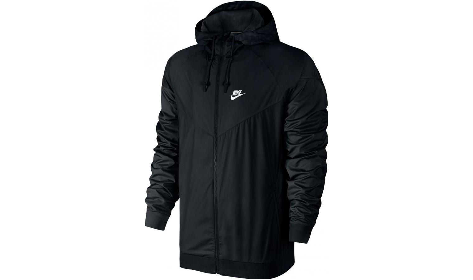 82b2e24d7adc Pánska bunda Nike WINDRUNNER čierna