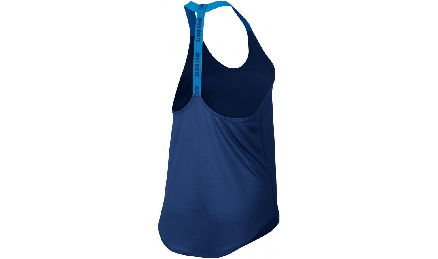 9fc1bf600300 Dámske športové tričko Nike WOMEN S TRAINING TANK modré