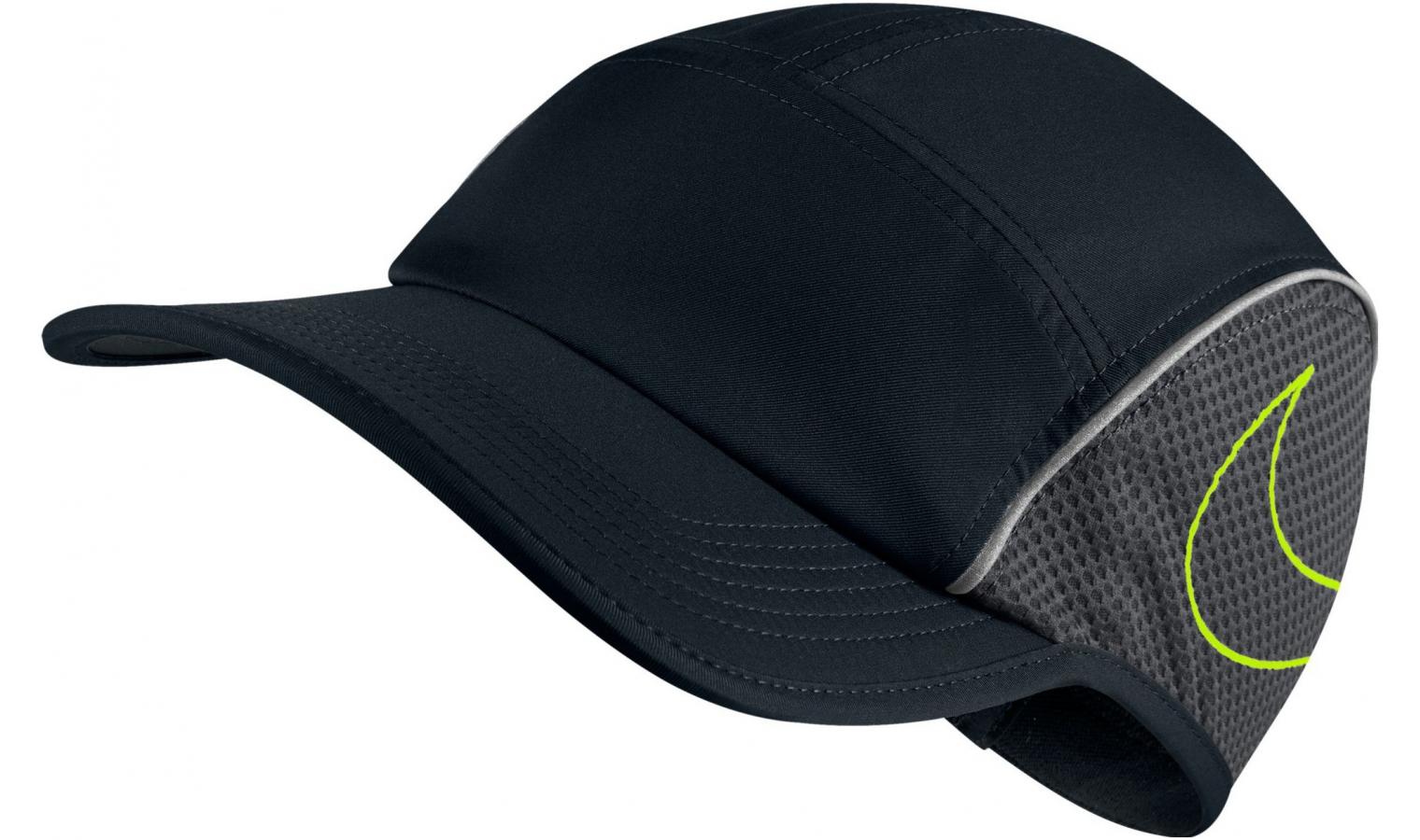 5fdf3207a Šiltovka Nike U NK AROBILL CAP RUN AW84 čierna | AD Sport.sk