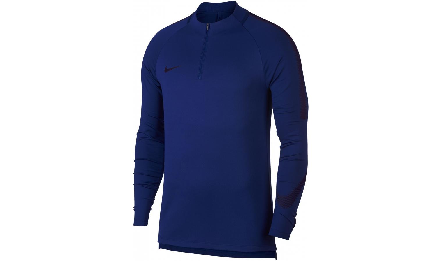 Pánska funkčná mikina Nike NK DRY SQD dril TOP 18 modrá  9112c85b16d