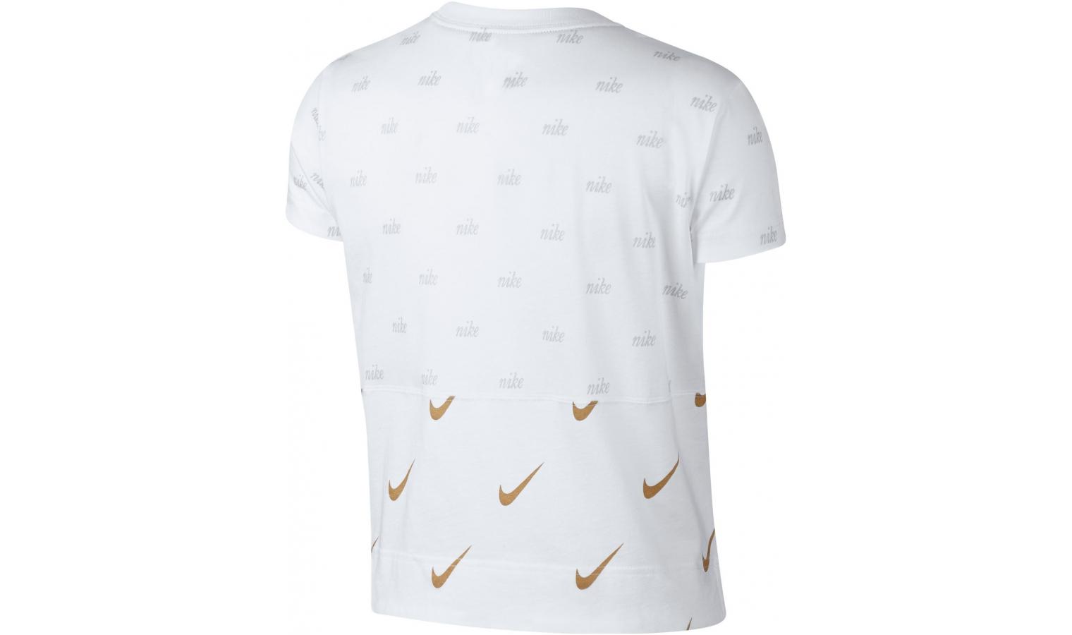 08acca105015 ... Dámske tričko Nike W NSW TOP SS METALLIC W biele. Zľava
