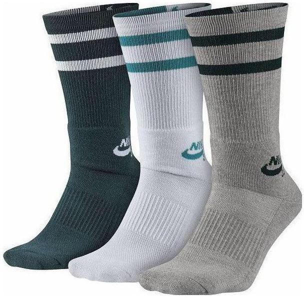 6f3e8856300 Pánske ponožky Nike SB CREW (3 PAIRS) modré
