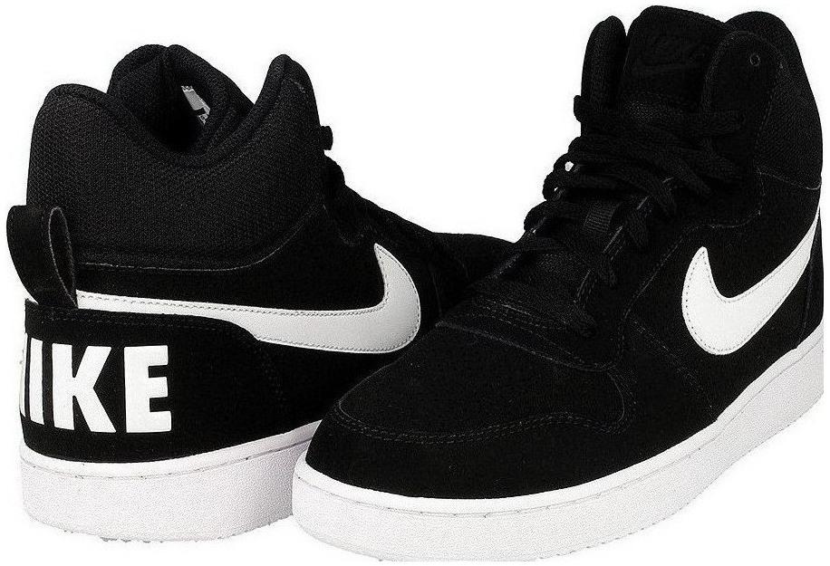 6ee1a5fc4a3fa Pánske tenisky Nike COURT BOROUGH MID čierne | AD Sport.sk