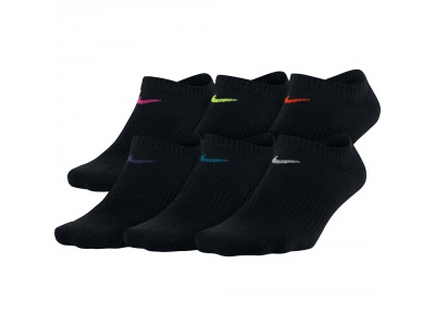 EVERYDAY LIGHTWEIGHT NO-SHOW TRAINING SOCKS W
