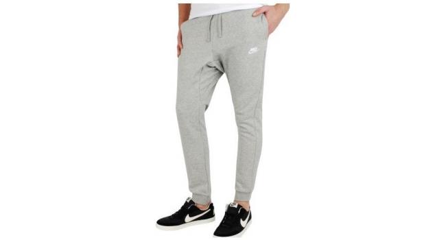ea4edbdbd5c6 Pánske športové tepláky Nike SPORTSWEAR JOGGER sivé