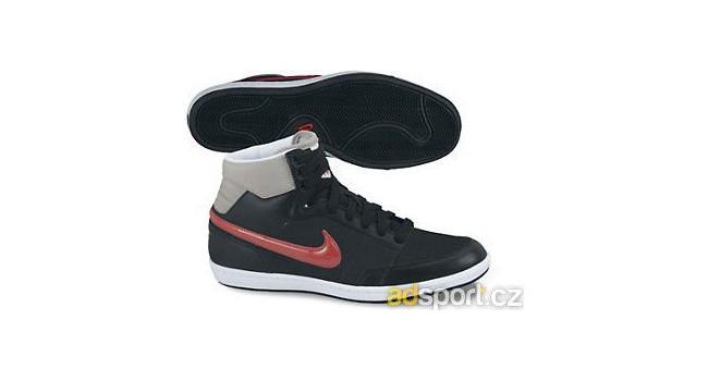 Dámské kotníkové boty Nike WMNS DOUBLE TEAM LT HI černé  23f6ca52e9