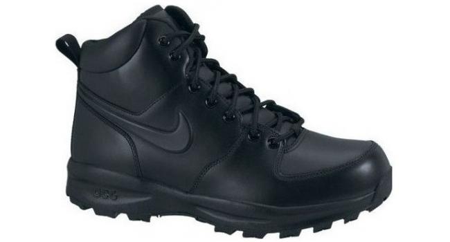 Pánske topánky Nike MANOA LEATHER čierne  2ca50441b4