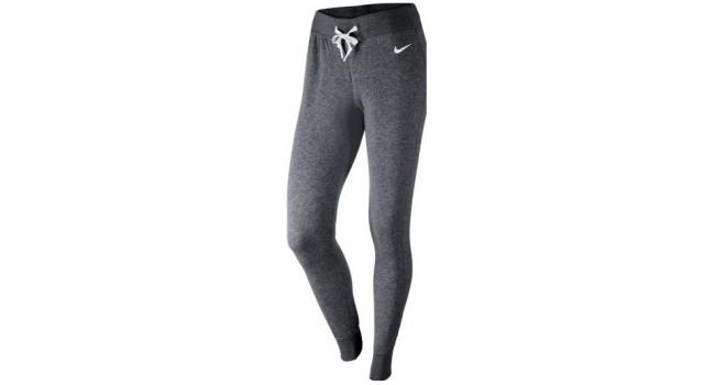 a451ad54347 Dámske nohavice Nike CLUB TIGHT šedé