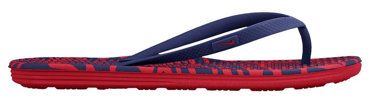 Dámske žabky Nike SOLARSOFT 2 PRINT červené  3f7c22b720b