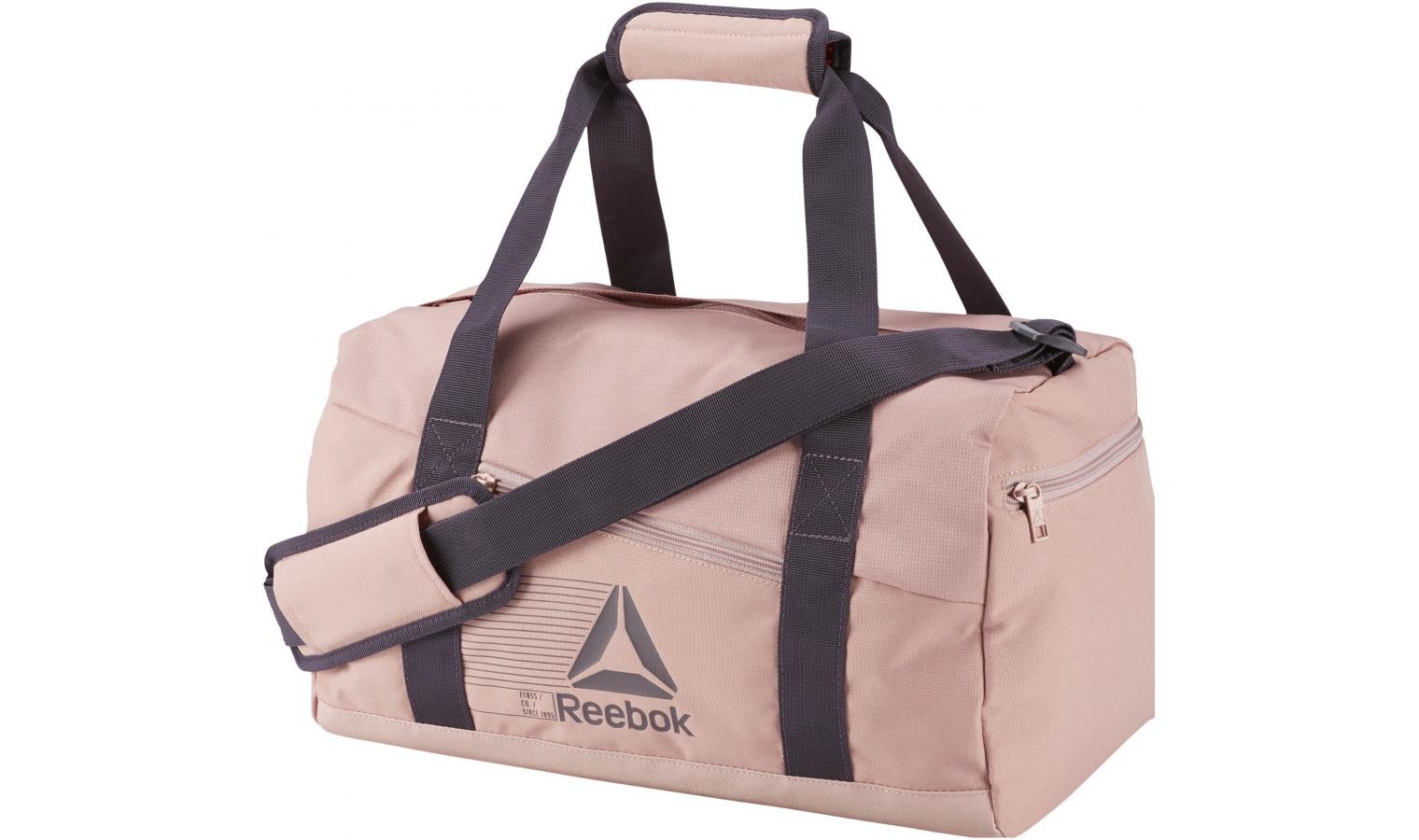 05b742ec6b Dámska športová taška Reebok ACT FON S GRIP ružová