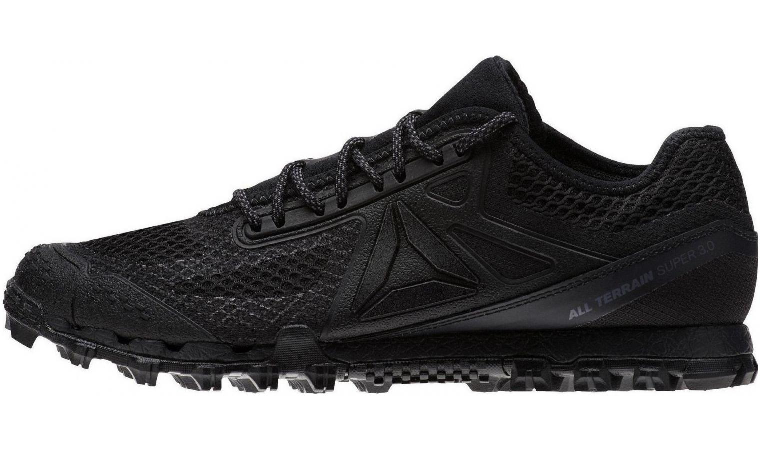 ... Pánske bežecké topánky Reebok AT SUPER 3.0 STEALTH čierne. Zľava 715e7dcb7d9