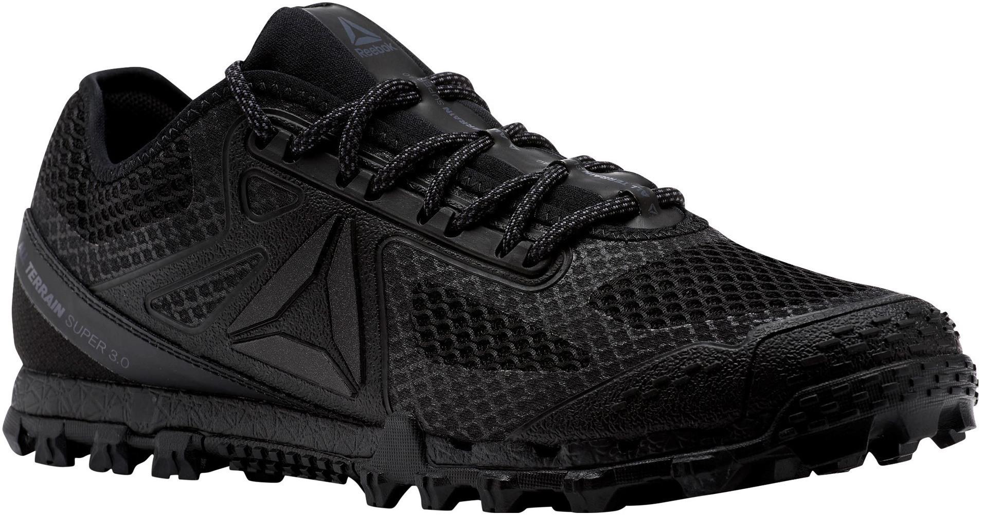 c51c1d8a42e7b Pánske bežecké topánky Reebok AT SUPER 3.0 STEALTH čierne | AD Sport.sk