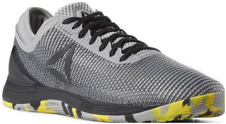 Pánske topánky na CrossFit Reebok R CROSSFIT NANO 8.0 šedé  26923ef3485