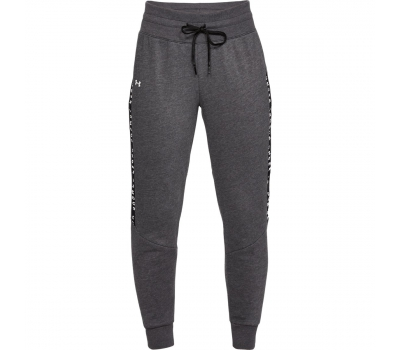 UA TAPED FLEECE PANT W